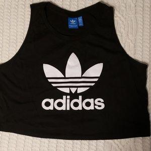 Adidas workout crop top